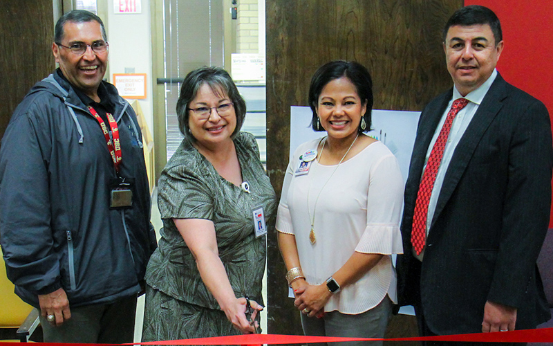 Uvalde college library opens Educator Resource Room