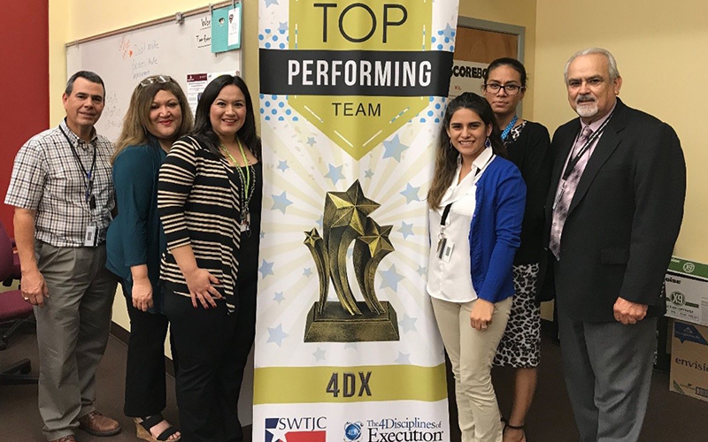 Eagle Pass Student Engagement Top Performers