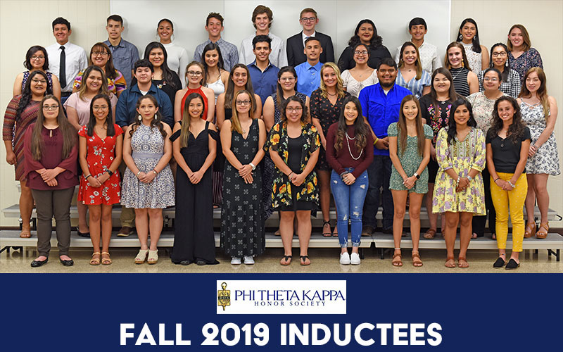 Phi Theta Kappa inducts 53 members during ceremony at SWTJC Uvalde